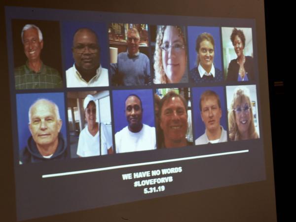 Víctimas del ataque en Virginia, Estados Unidos