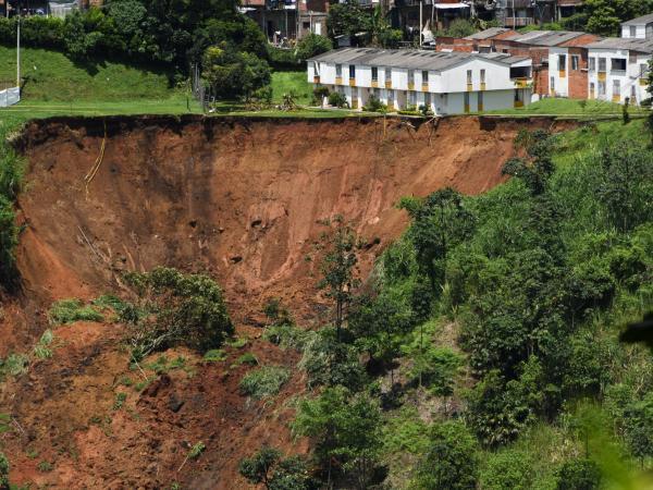Derrumbe en Pereira 2