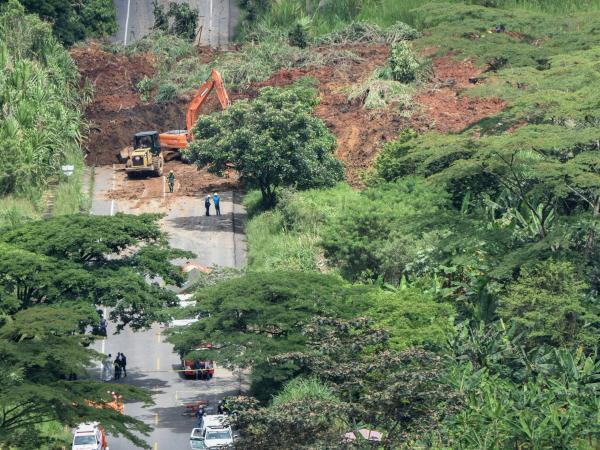 Derrumbe en Pereira