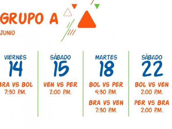 Calendario partidos de la Copa para la APP