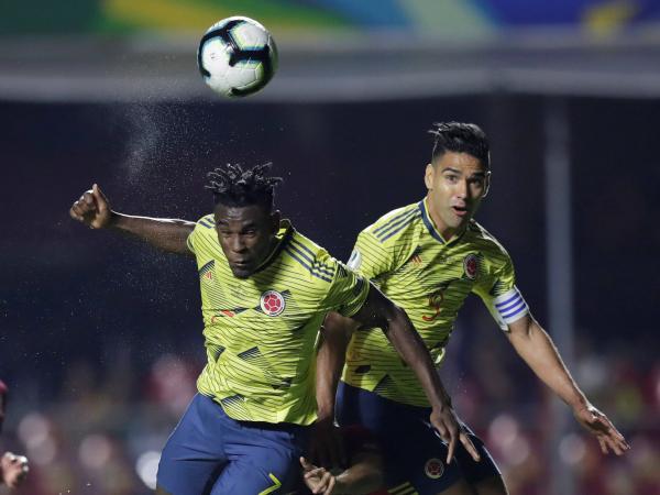 Gol de Colombia vs Duván