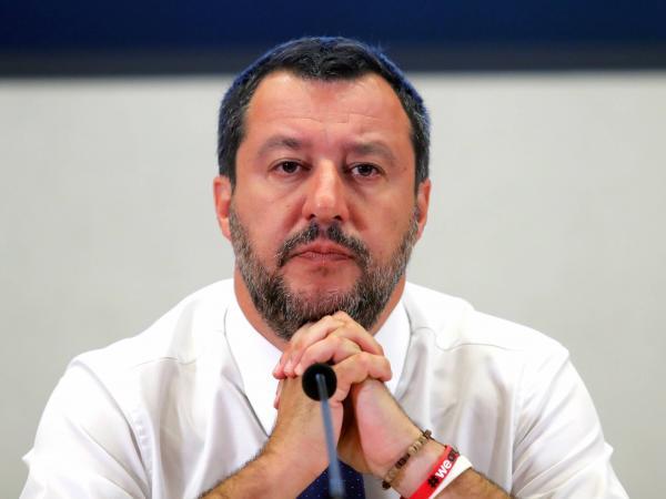 Ministro del Interior italiano, Matteo Salvini