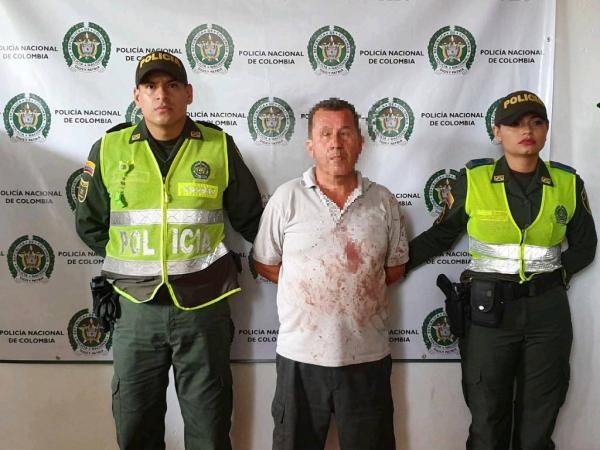 POLICÍA TOLIMA LOGRA LA CAPTURA DE UN SUJETO POR EL DELITO DE FEMINICIDIO.