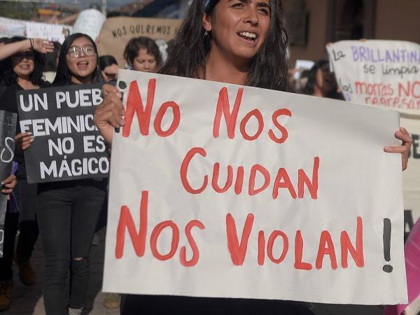 Protesta México Mujeres