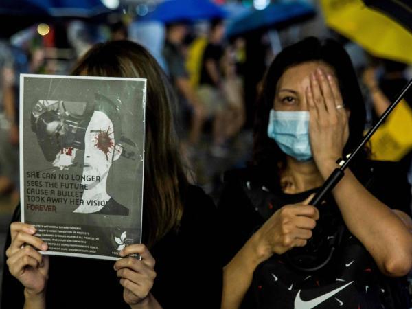 Protestas en Hong Kong 18 de Agosto