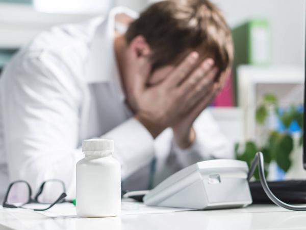 Médico y depresión