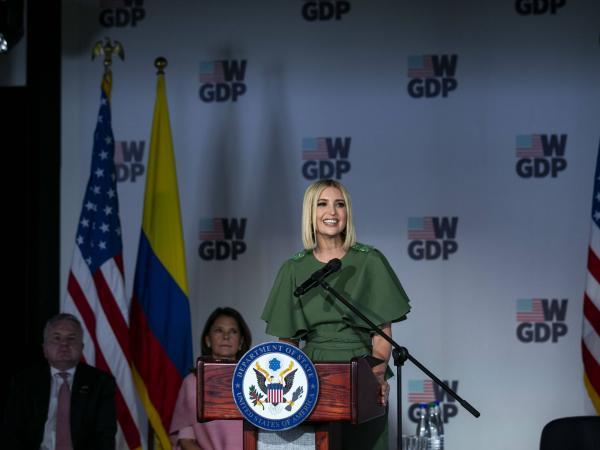 Las imágenes del primer día de visita de Ivanka Trump a Colombia
