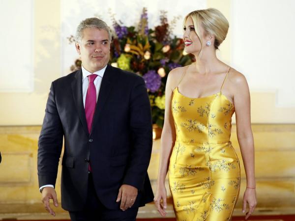 Ivanka y Duque