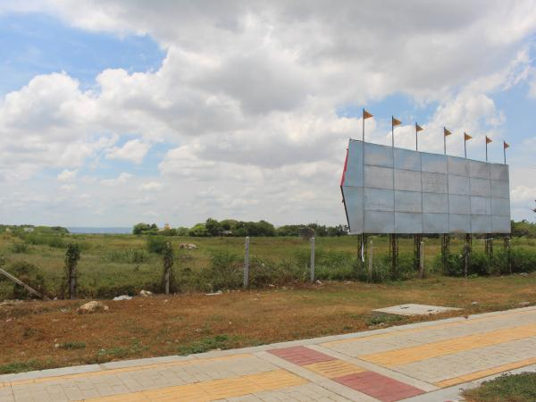 Este predio en Cartagena tiene hay un folio legal a nombre de la Aerocivil y otro falso a nombre de los 'invasores profesionales.