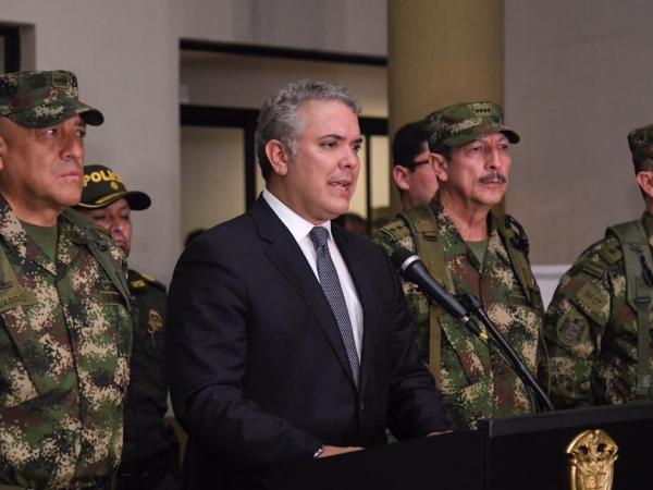Iván Duque en Popayán