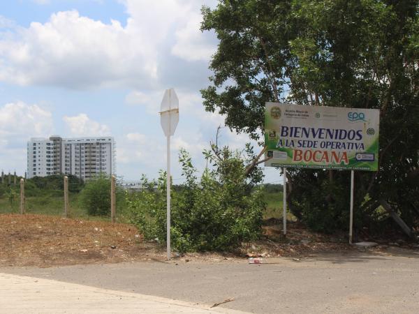 Los predios en litigio están en inmediaciones del aeropuerto de Cartagena.