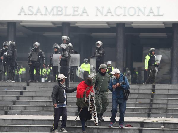 Protestas en Ecuador por subsidios