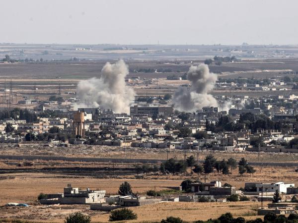 Ataque turco a Siria