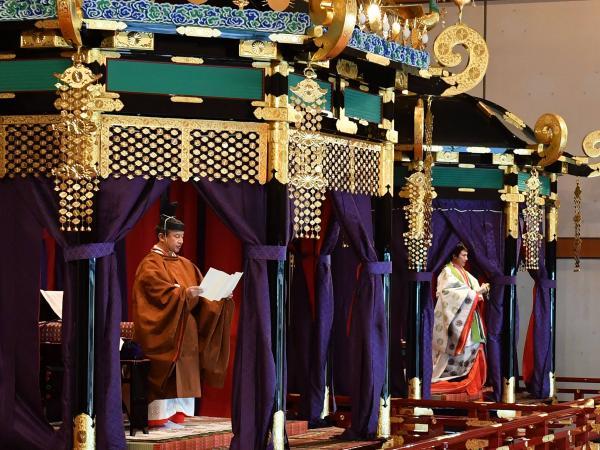 Ascenso de emperador de Japón