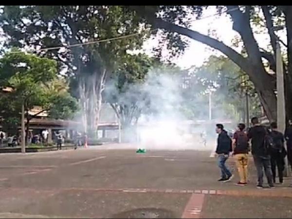 Disturbios Universidad de Antioquia
