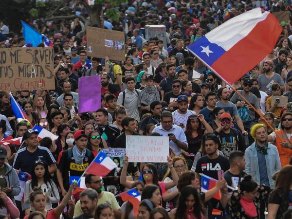 Marcha en Chile