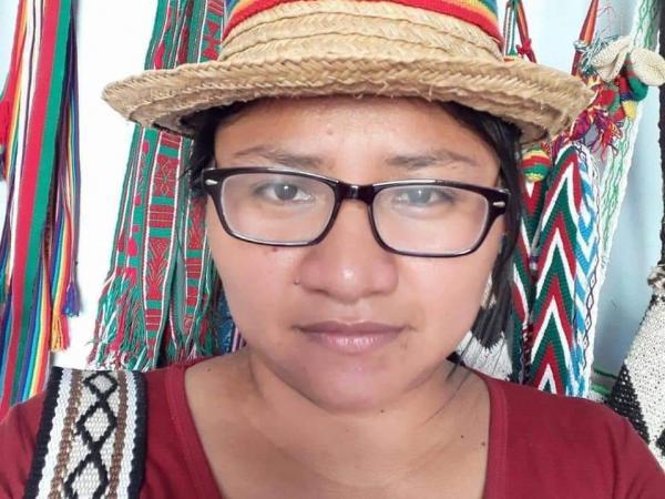 La gobernadora indígena Cristina Bautista.