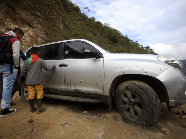 Masacre de indígenas en Tacueyó, Cauca