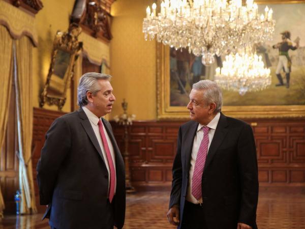 Encuentro Andrés Manuel López Obrador-Alberto Fernández