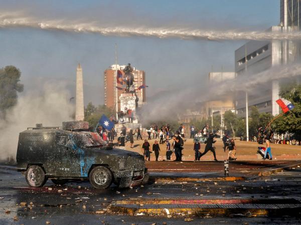 Manifestaciones Chile 6 de noviembre