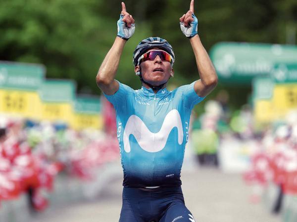 Nairo Quintana, ciclista