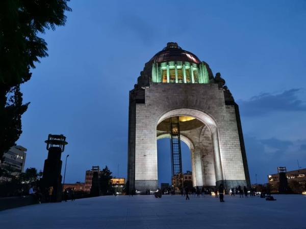 Monumento a la Revolución Mate