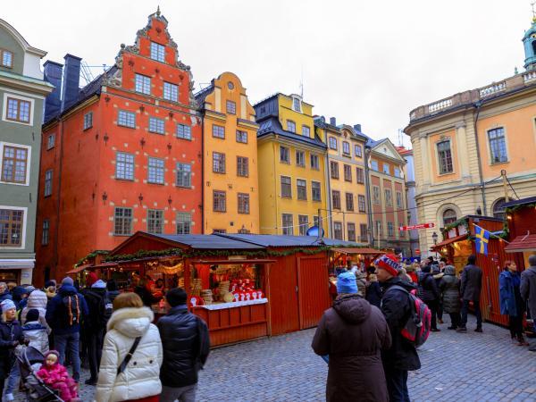 mercado navideño Suecia