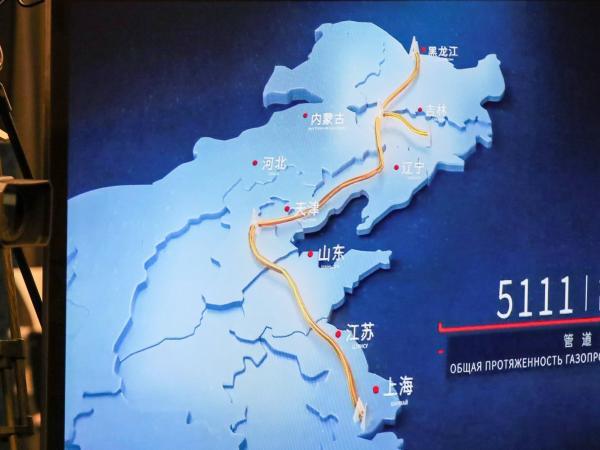 Gasoducto Rusia-China