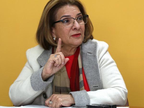 Margarita Cabello, ministra de Justicia