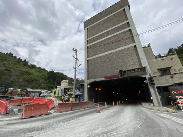 Segundo túnel de Occidente, Antioquia