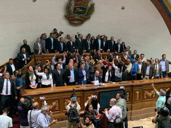 Asamblea Nacional Venezuela 7 de enero