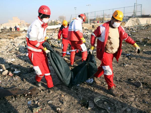 Accidente de avión ucraniano en Irán