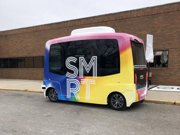 Buses autónomos Columbus 1