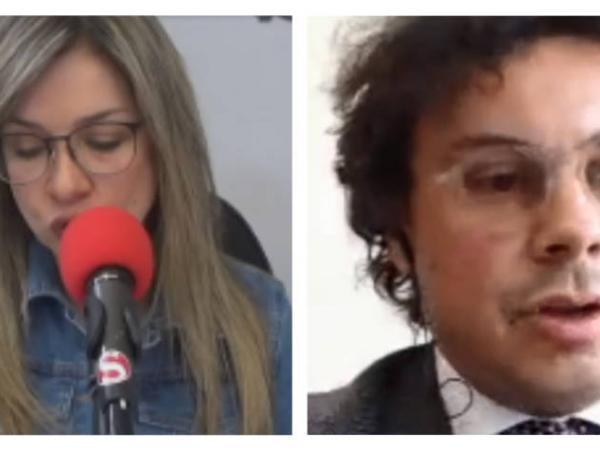 Vicky Dávila y Hassan Nassar