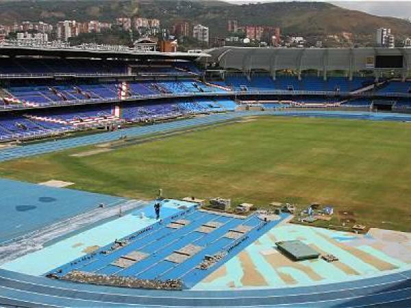 El estadio Pascual Guerrero.