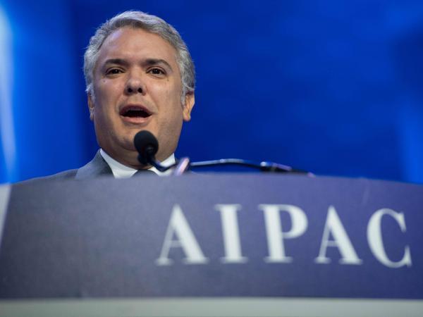 Duque en AIPAC