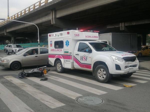 Ambulancia en Amagá