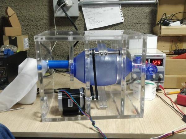 Respirador a bajo costo Universidad de Antioquia