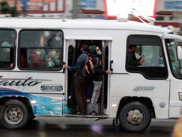 Protestas Simulacro Bogotá