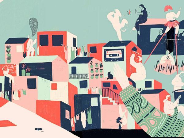 La voz de las manos Isabel G. Machado ilustradora