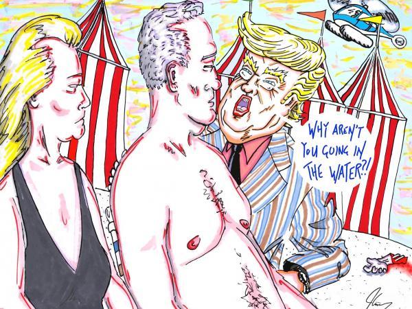 Caricatura de Jim Carrey 5