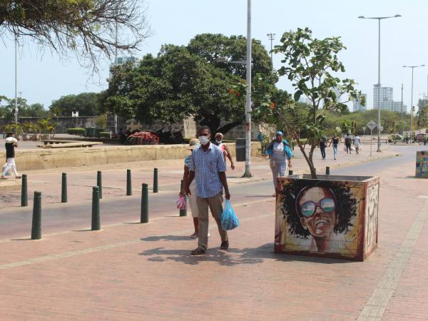 Los habitantes de Bocagrande, Castillogrande y El Laguito también piden cercos epidemiológicos para estos barrios.
