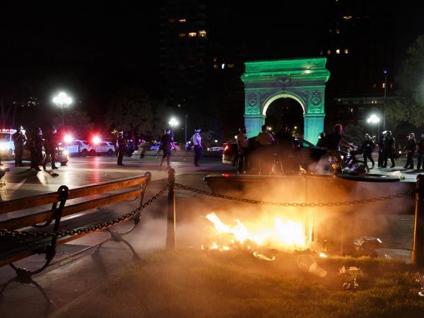 Manifestaciones en EE. UU.