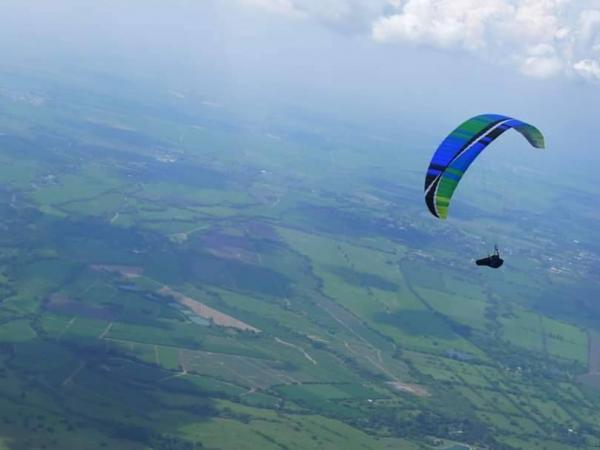 Así sobreviví a una caída de 600 metros en un parapente