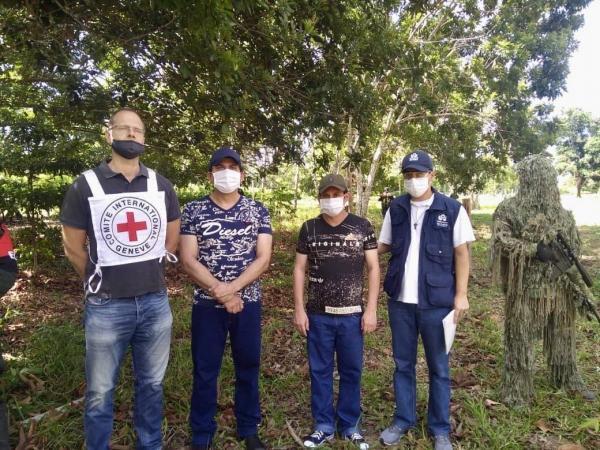 Secuestrados liberados
