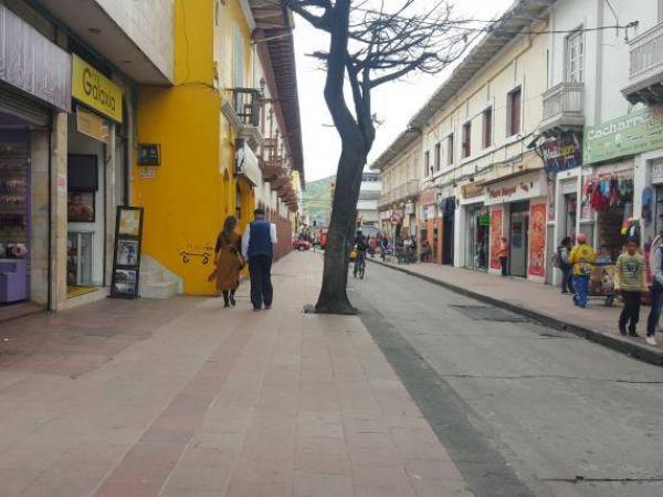 Calles de Ipiales, municipio de Nariño.