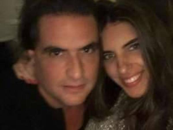 Álex Saab y Camila Fabri