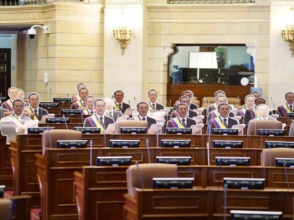 Homenaje a Uribe Centro Democrático