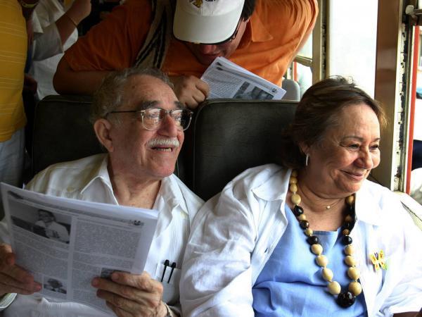 Mercedes Barcha y Gabriel García Márquez