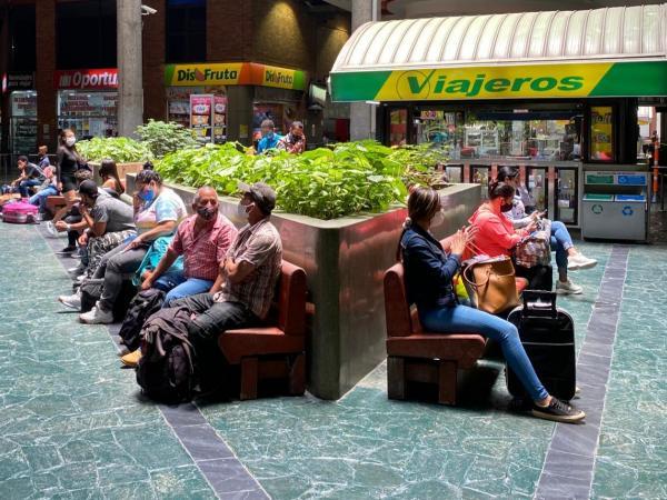 Reapertura de la terminal de transporte en Medellín